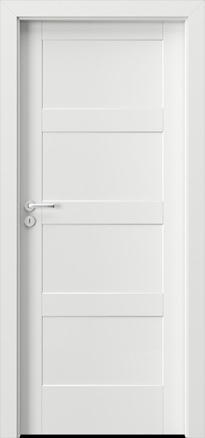 Flush door leaves Porta Doors in synthetic veneer - Collection Porta SKANDIA Premium & 501Doors.Com